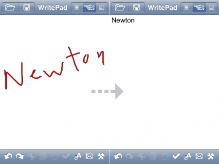 writepad_newton