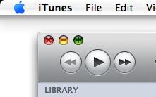 iTunes 9 maximize