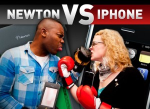 Newton vs. iPhone