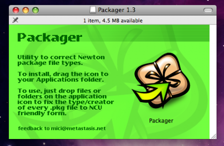 Packager for Mac OS X