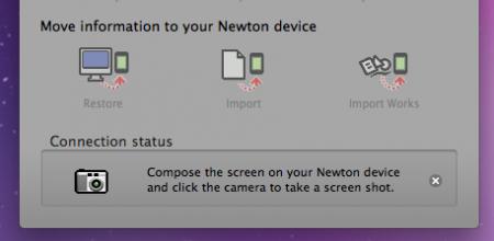 NCX screenshot function