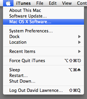Mac OS X Software