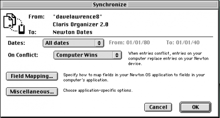 Sync prefs
