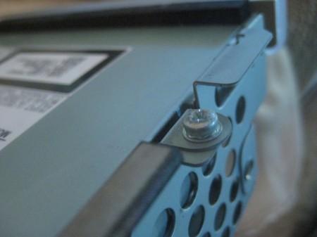 iMac hard drive tray