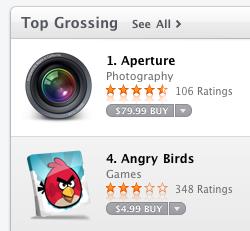 app store aperture